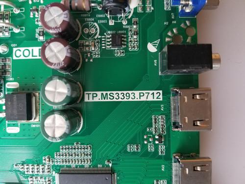 "TV LED 40"" ,SCEPTRE, X415BV-FMQR, MAIN BOARD /POWER SUPPLY, Y14070063, TP.MS3393.P712"