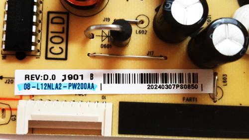 TCL 55S421 Main board w/ Wifi module & Power Supply board & LED Light Strips KIT V8-ST10K01-LF1V2265 & 08-L12NLA2-PW200AA & LB5507