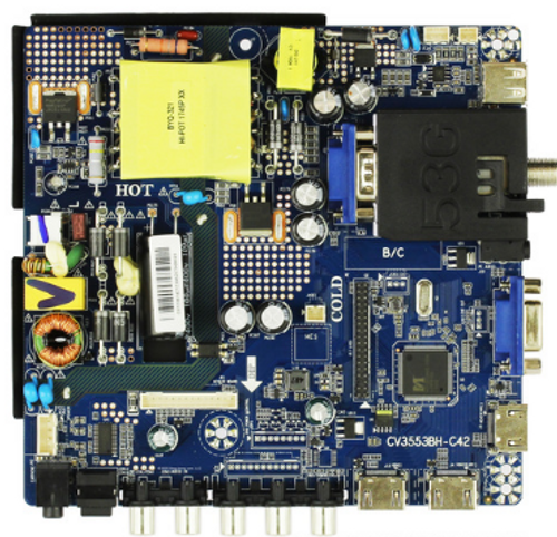 Sceptre 8142123352079 Main Board / Power Supply