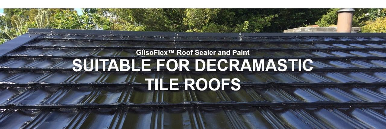 GilsoFlex for decramastic roofs by biosymph Ltd