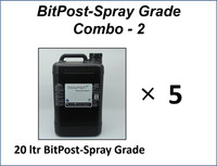 BitPost-Spray Grade-Timber Stain and Preserver COMBO 2