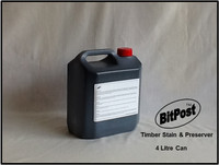 BitPost Timber Stain and Preserver 4liter can Brush On product