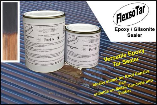 FlexsoTar Bitumen / Epoxy 2pot Sealer
