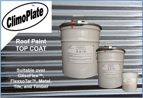 ClimoPlate Roof Paint top coat by biosymph