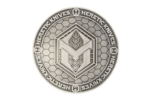 Heretic Pariah Challenge Coin