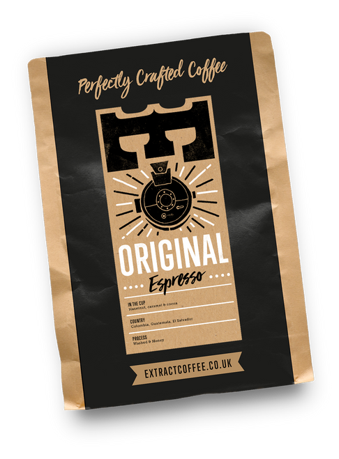 Extract Coffee Roasters Original Espresso - Ethically sourced coffee