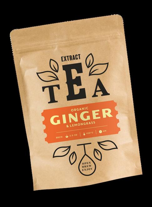 Extract Tea - Organic Ginger & Lemongrass Herbal Tea