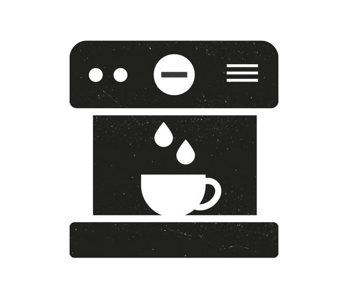 Extract Coffee Roasters espresso machine