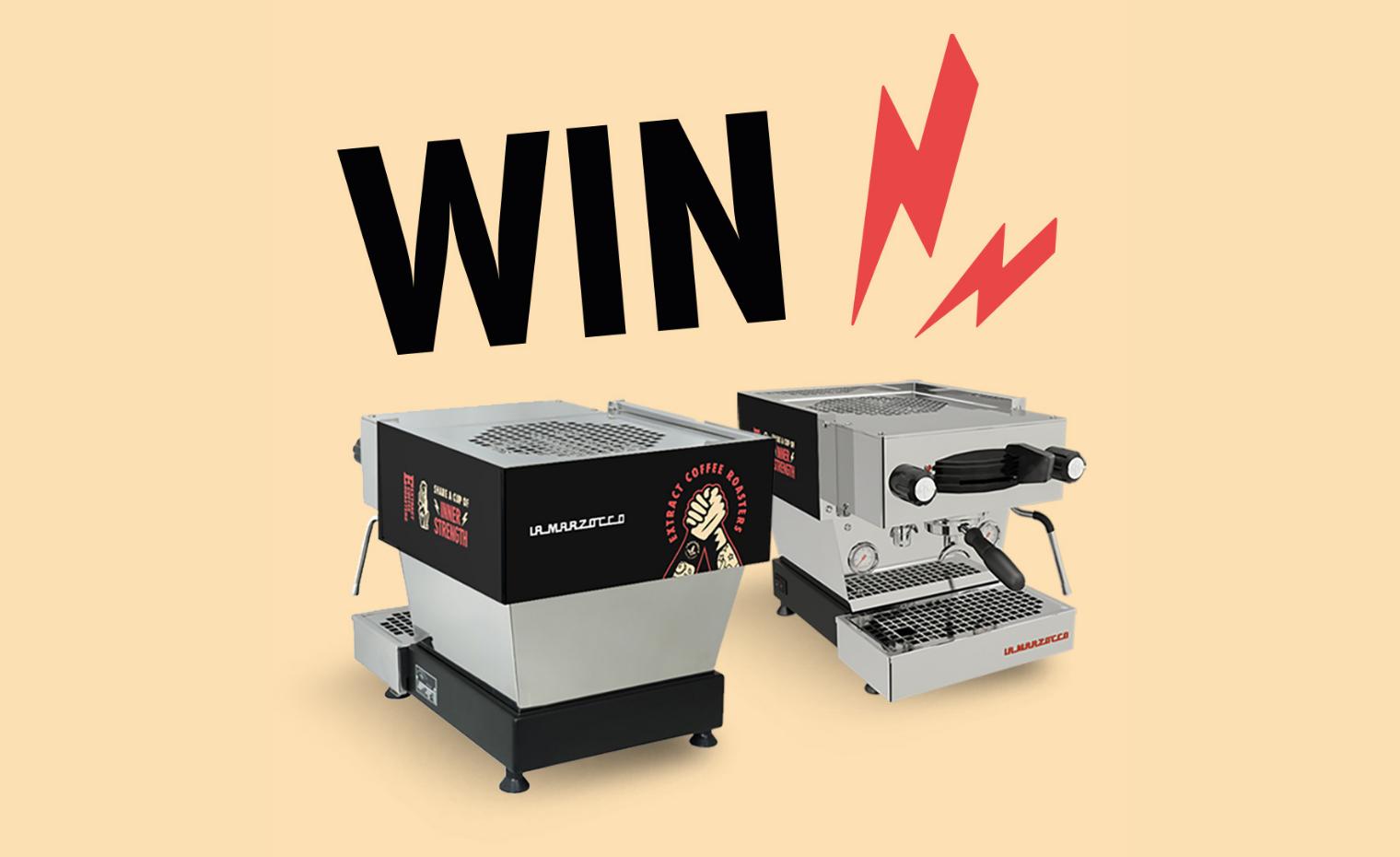 Extract Coffee Roasters x La Marzocco Customised LInea Mini Espresso Machine - Win - Raffle