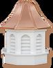 Cupola - Azek Pinnacle - Gazebo - 48Lx48Wx90H