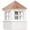 Cupola - Ellsworth: Azek - Wood Top - 18Lx18Wx29H