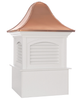 Good Directions Fairfield Vinyl Cupola 36in. square x 56in. high