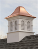 Good Directions Smithsonian Montgomery Vinyl Cupola 60in. square x 98in. high