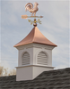 Good Directions Smithsonian Newington Vinyl Cupola 36in. square x 58in. high