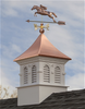 Good Directions Smithsonian Columbia Vinyl Cupola 30in. square x 51in. high