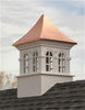 Good Directions Smithsonian Stafford Vinyl Cupola 60in. square x 99in. high
