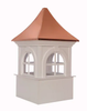 Good Directions Smithsonian Fairfax Vinyl Cupola 42in. square x 67in. high