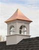 Good Directions Smithsonian Fairfax Vinyl Cupola 48in. square x 80in. high