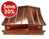 ALL COPPER CHIMNEY CAPS ON SALE!