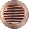 """Copper Roof Vent or Dormer - 18"""" Round"""