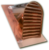 Copper Roof Vent or Dormer - 18x27 Tombstone