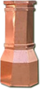 Copper Chimney Pot - Octagon 15 in. x 42 in.