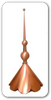 Finial - Tripple Ball Finial 60 inch