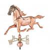 Weathervane - Polished - 3-D Med. Horse