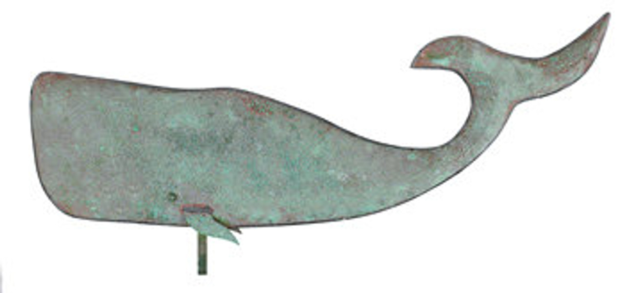 Weathervane - Large Whale