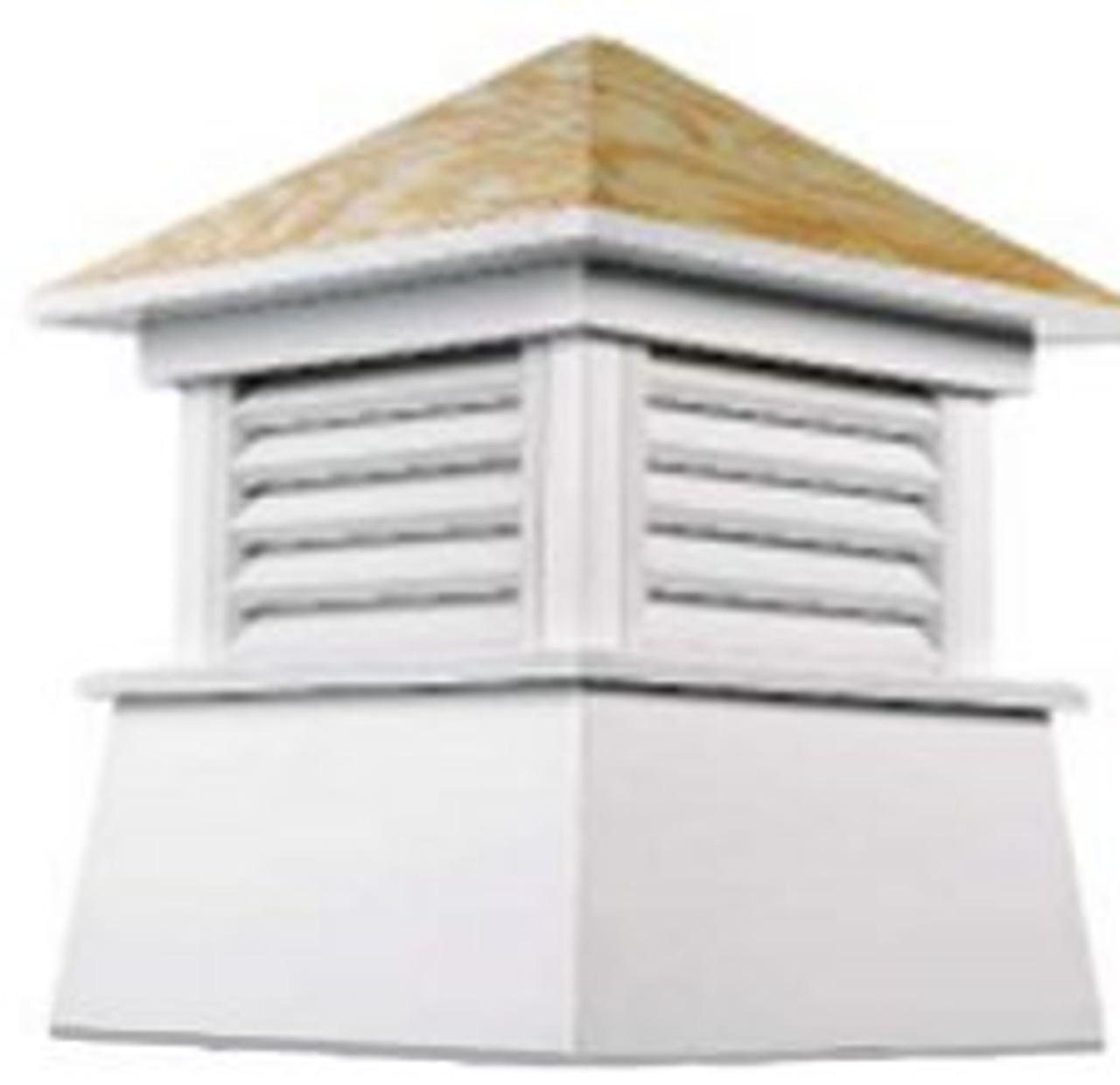 Good Directions Vinyl Kent Cupola - 54in. square x 72in. high