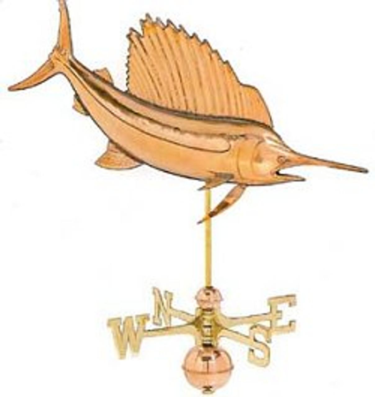 Weathervane - Polished - Sailfish
