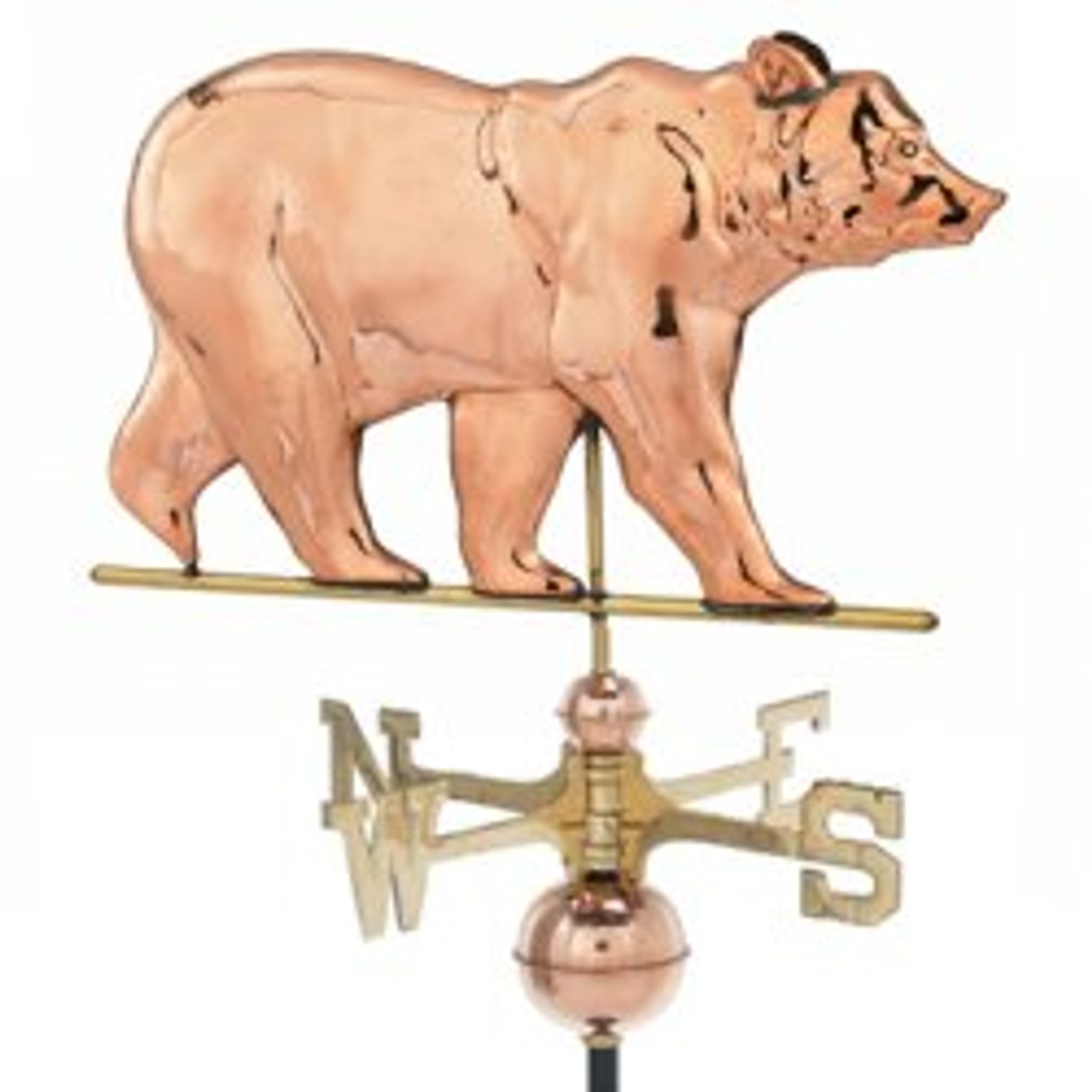 Weathervane - Polished - Bear