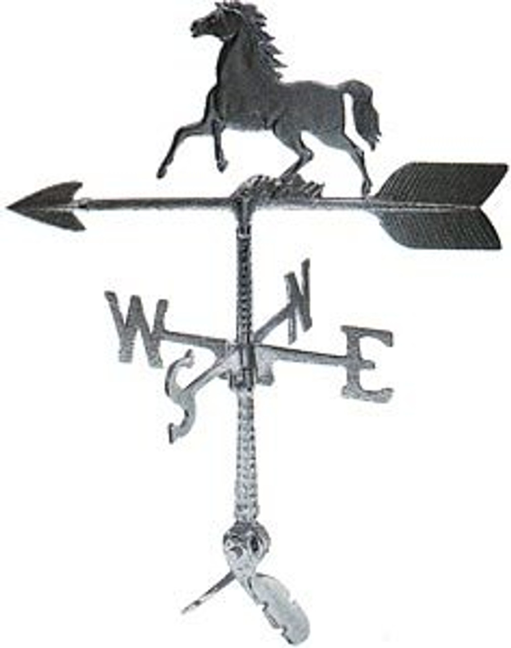 Weathervane: 24in. Horse With Mount