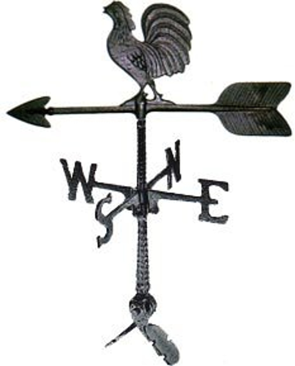 Rooster Weathervane - 24in. With Mount