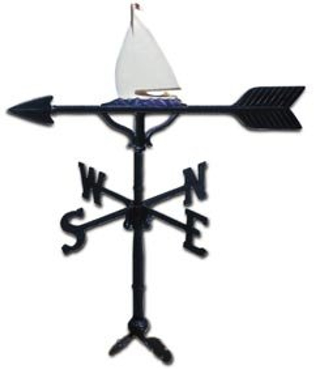 Weathervane: 32in. Sailboat With Mount