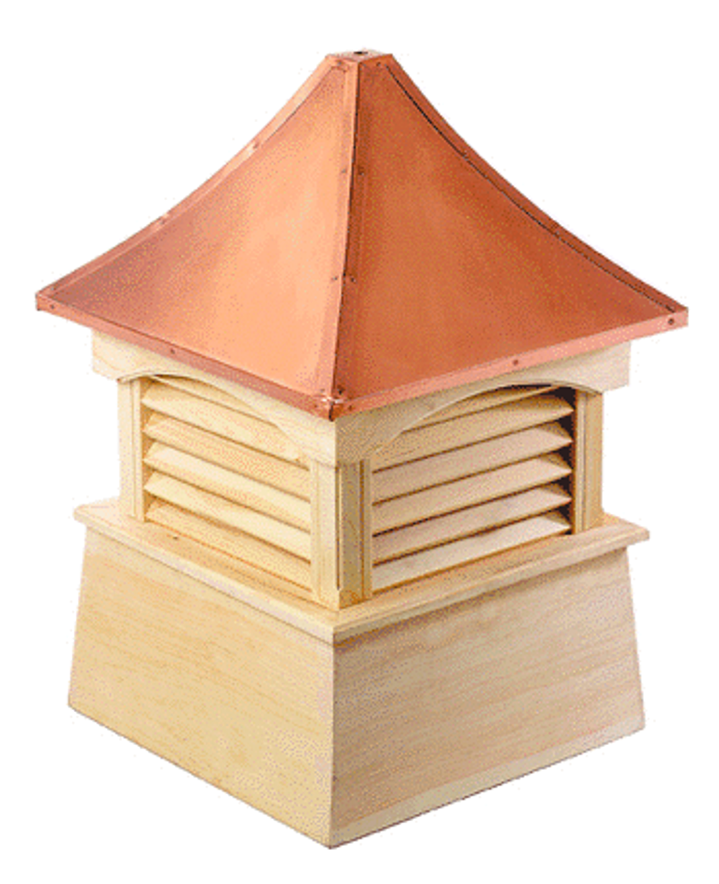 Good Directions Cypress Coventry Cupola - 60in. square x 86in. high