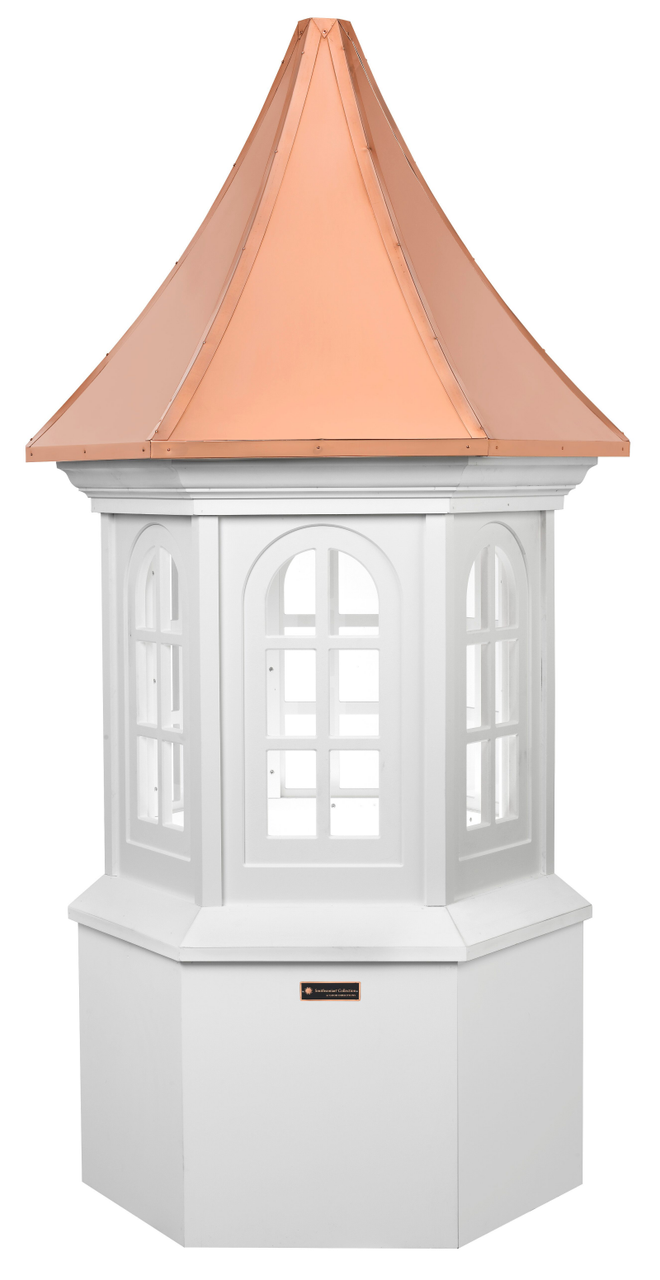 Good Directions Smithsonian Vinyl Georgetown Cupola - 36in. square x 88in. high