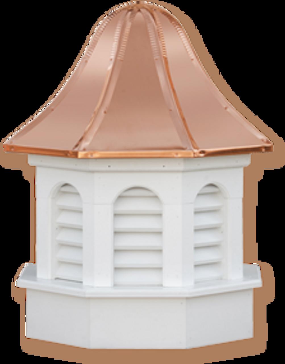Cupola - Azek Pinnacle - Gazebo - 24Lx24Wx47H