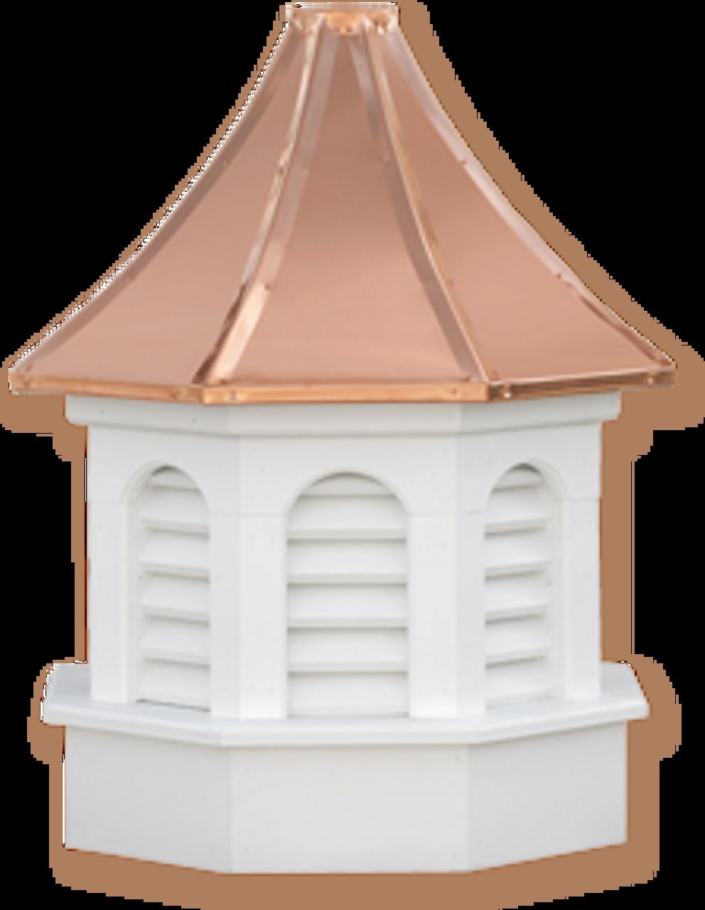 Cupola - Azek Kingston - Gazebo - 30Lx30Wx59H