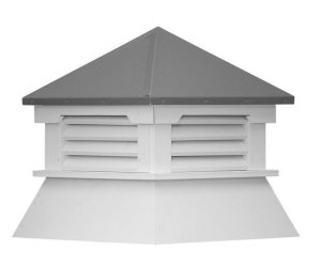 Cupola - Classic Shed: Azek - Aluminum Top - 25Lx25Wx30H