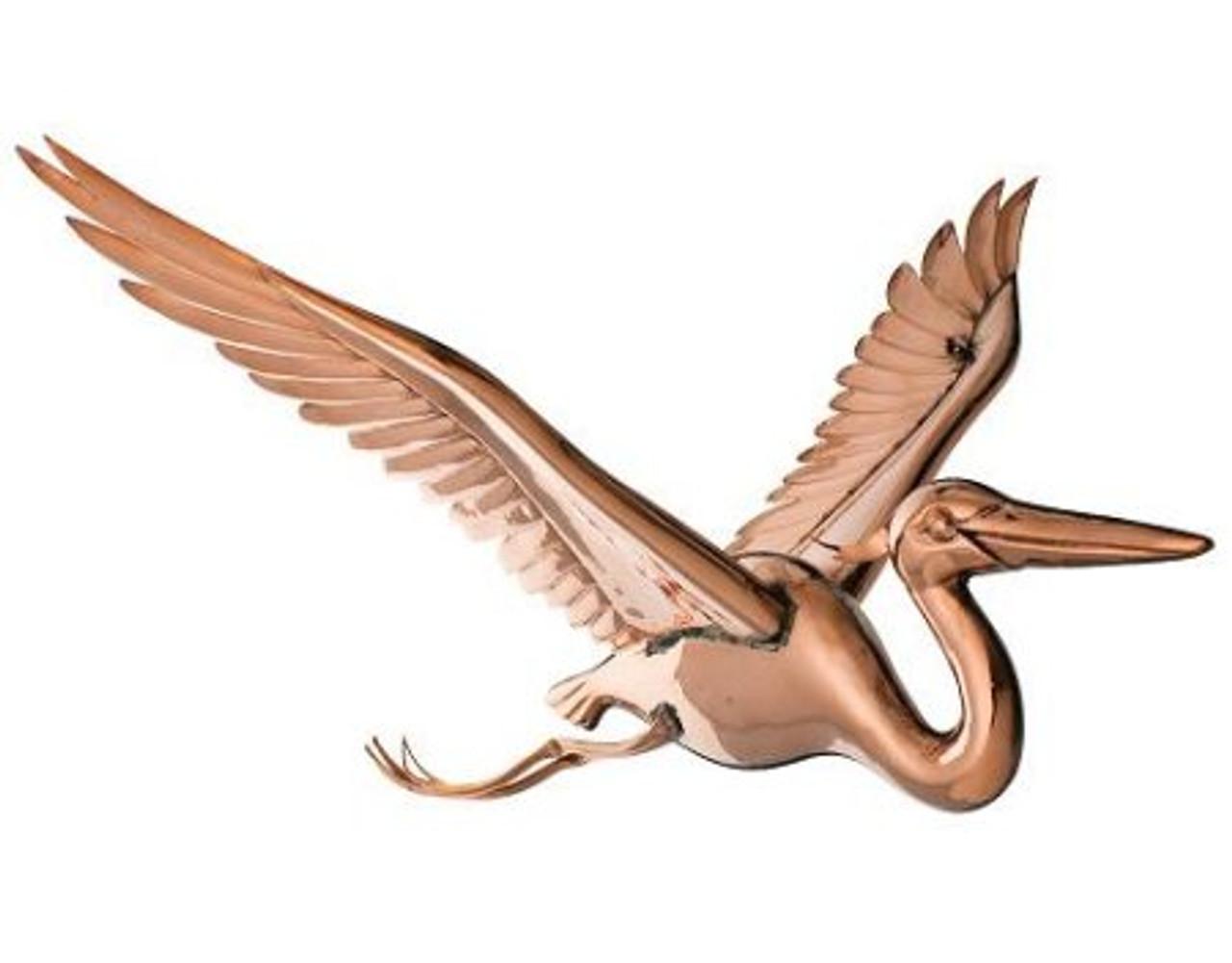 Hanging 3D Blue Heron Figure
