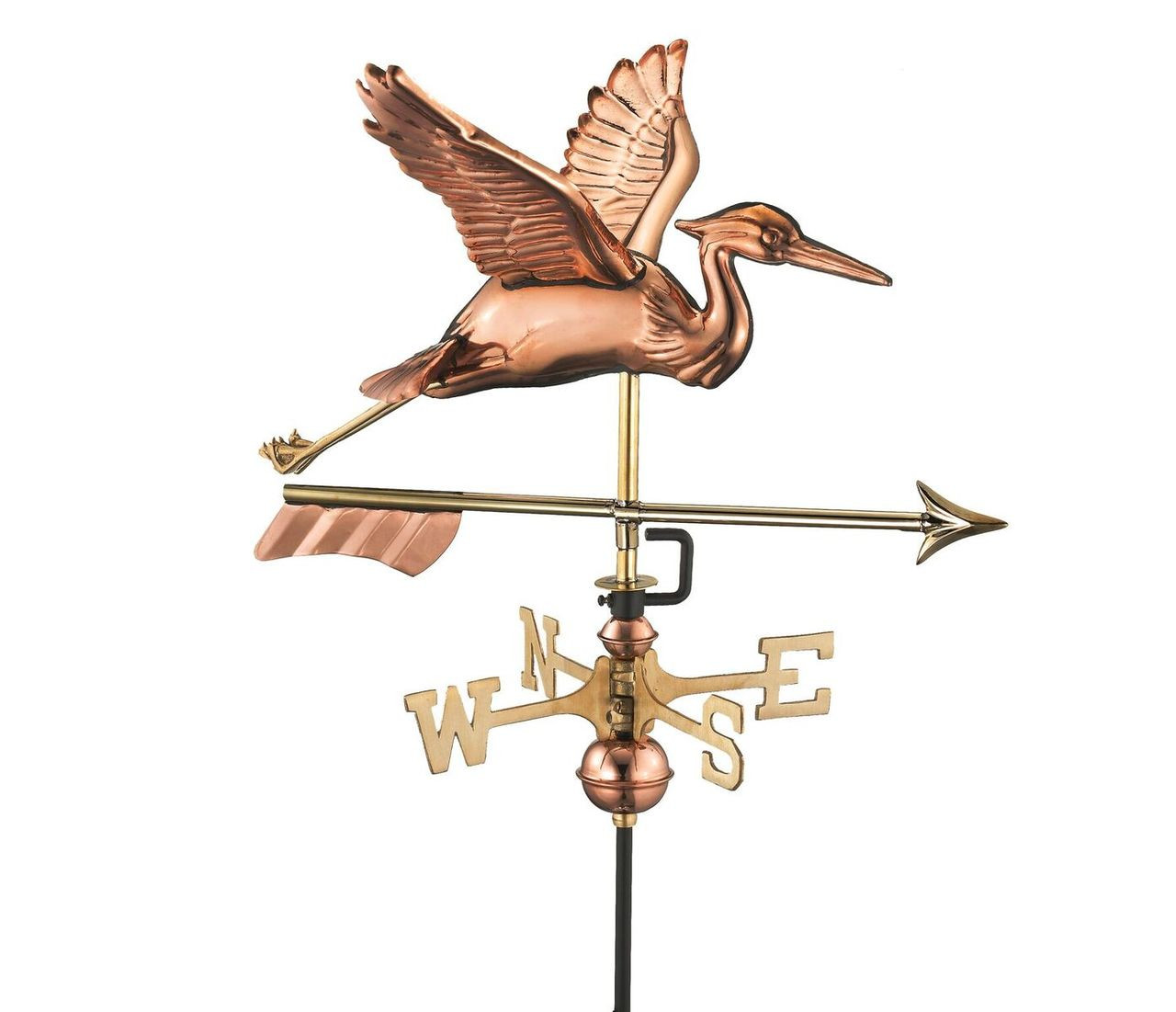 Blue Heron with Arrow Cottage Weathervane
