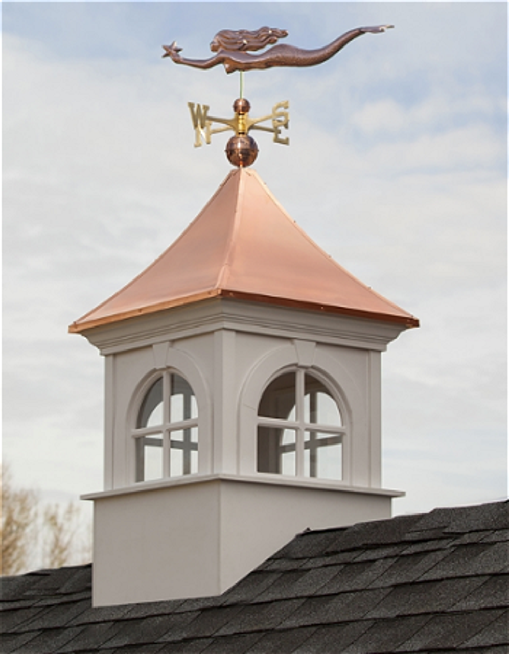 Good Directions Smithsonian Fairfax Vinyl Cupola 26in. square x 43in. High