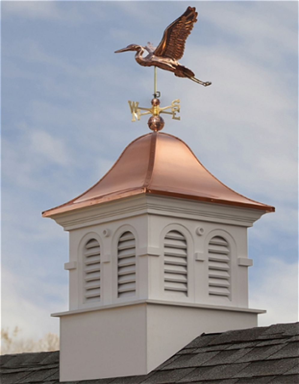 Good Directions Smithsonian Montgomery Vinyl Cupola 42in. square x 66in. high