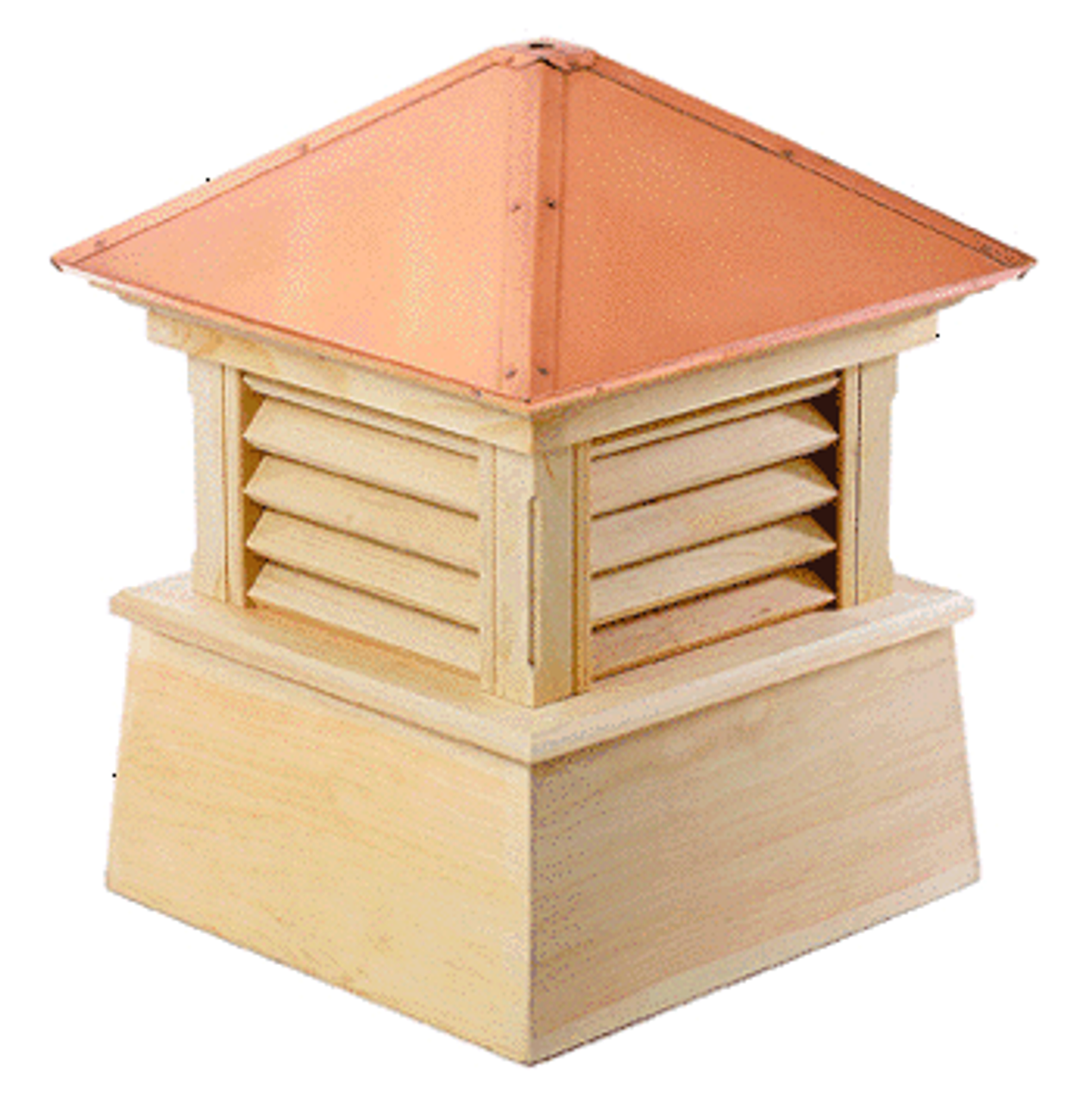 Good Directions Cypress Manchester Cupola - 72in. square x 93in. high
