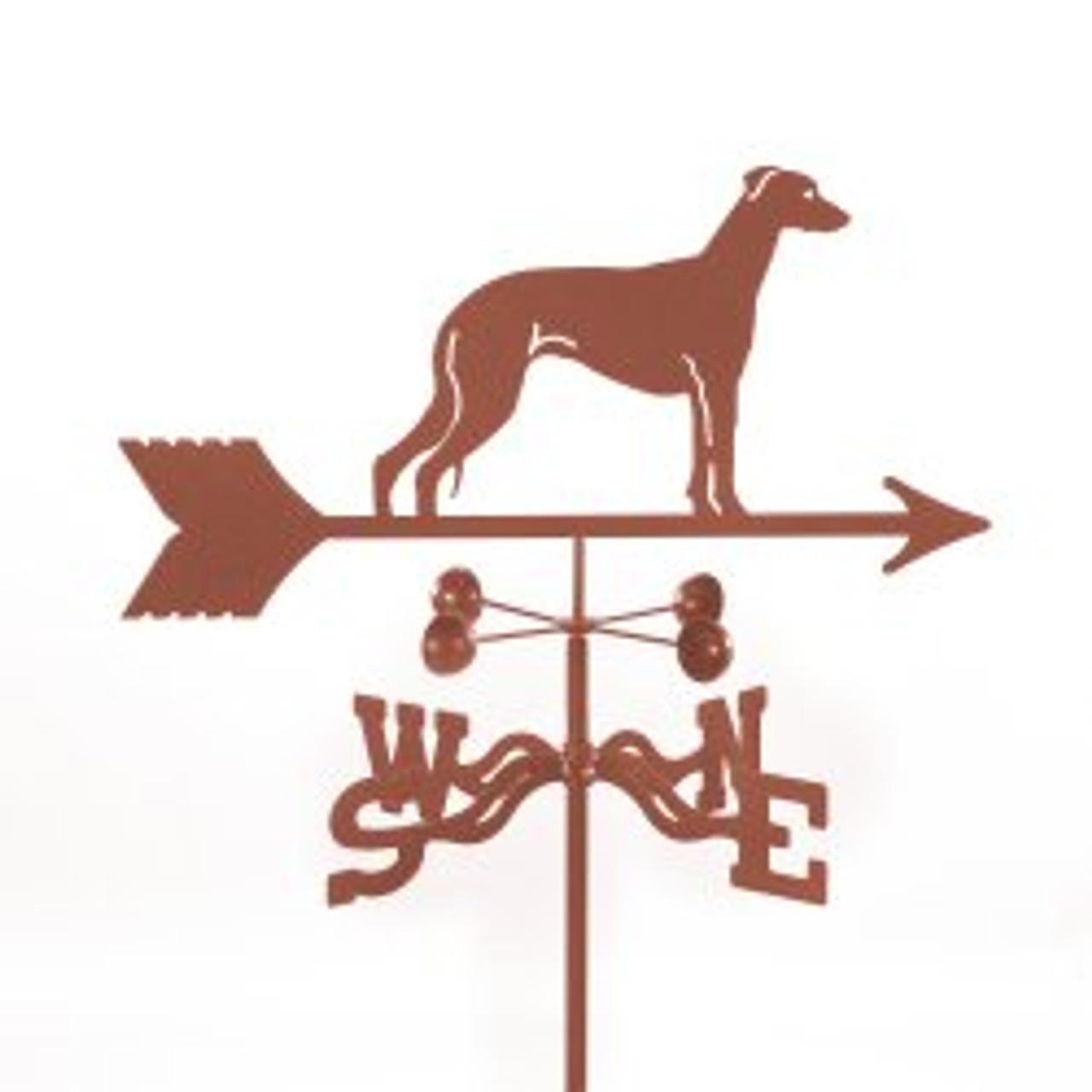 Dog-Greyhound Weathervane with mount