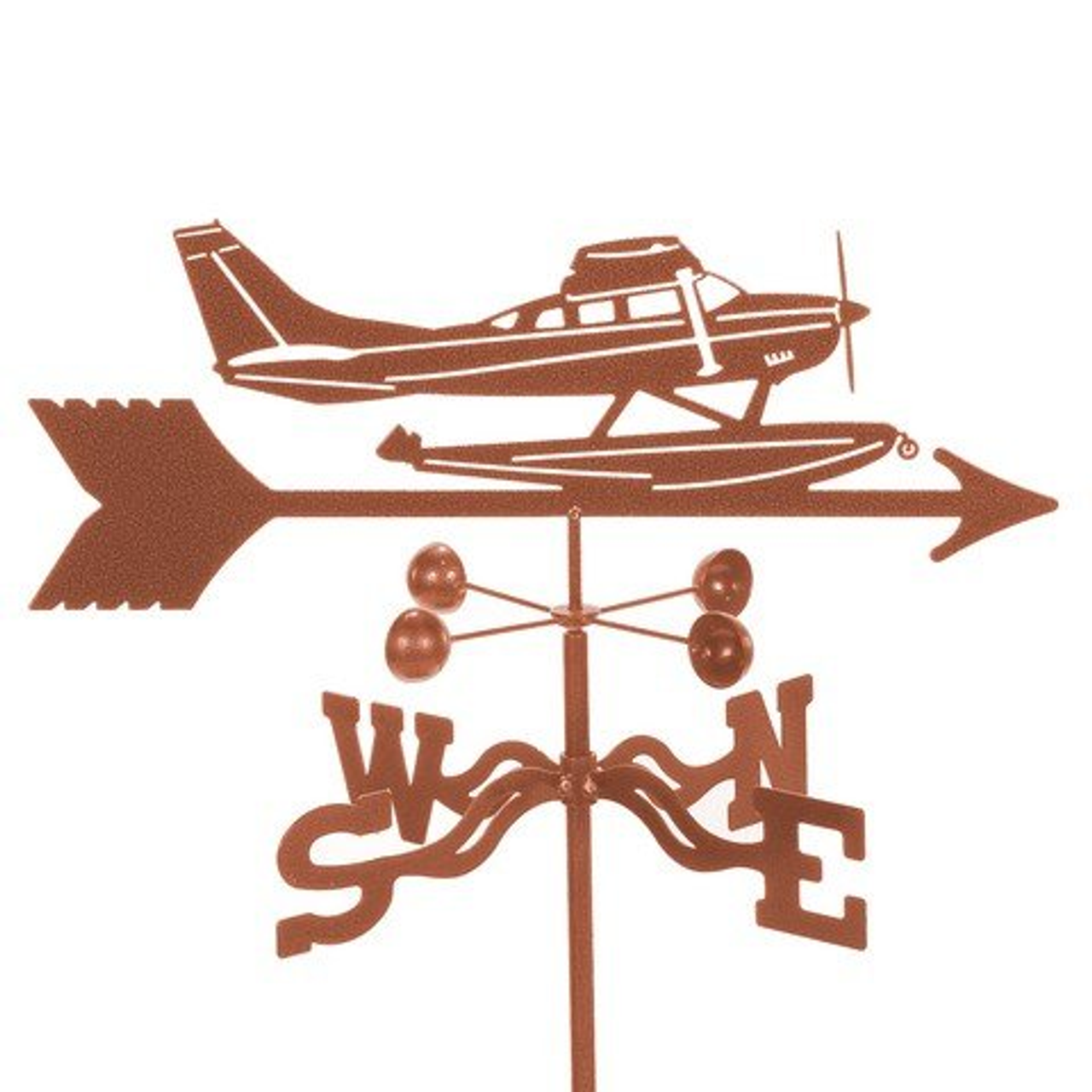 Float Plane Weathervane With Mount