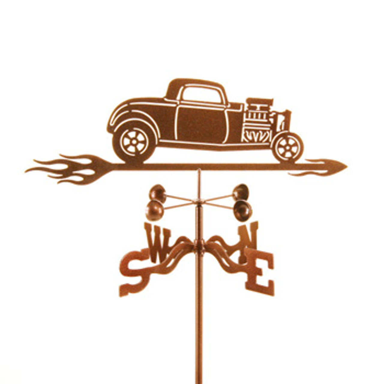 Car-1932 with Blower Weathervane With Mount
