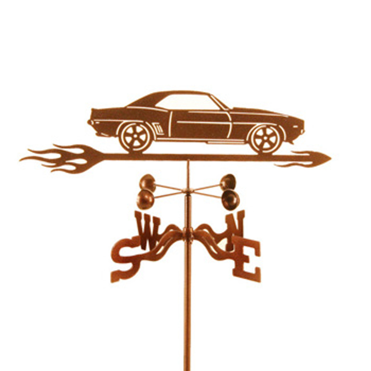 Car-69 Camaro Weathervane With Mount