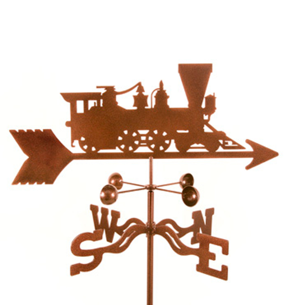 Train Weathervane With Mount
